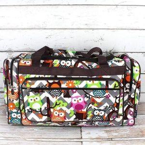 "Handbags - Ogling Owls Duffle- 23"" inch"